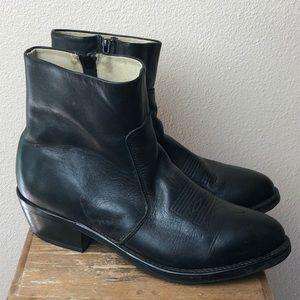Durango Boots Side Zip Size 9.5 Men's TR 820
